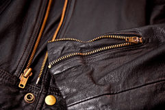 Leather jacket Stock Image