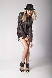 Leather jacket Stock Photo