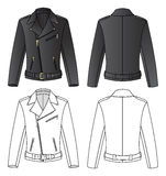 Leather Jacket For Man Stock Images
