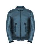 Leather jacket isolated Royalty Free Stock Photo