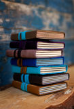 Leather journals Royalty Free Stock Photos