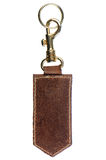 Leather key chain Royalty Free Stock Images