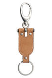 Leather keychain Royalty Free Stock Photos