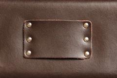 Leather Label Royalty Free Stock Images