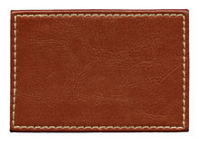 Leather label stock images