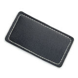 Leather label Royalty Free Stock Image