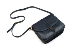 Leather ladies handbag Royalty Free Stock Photography