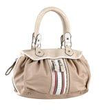 Leather lady handbag Stock Photo