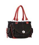 Leather lady handbag Royalty Free Stock Photo
