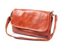 Leather lady handbag Royalty Free Stock Image