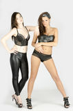 Leather lingerie Stock Image