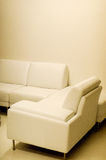 Leather Lounge Royalty Free Stock Images