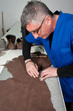 Leather manufacture Royalty Free Stock Photo
