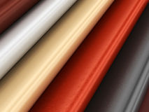 Leather material variation Stock Photography