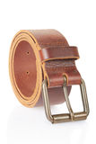 Leather men belt Stock Photography
