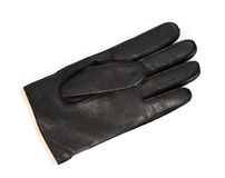 Leather men glove Royalty Free Stock Images