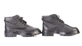 leather men s shoes 库存图片