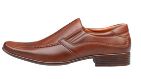 Leather men shoe Stock Image