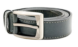 Leather mens belt Royalty Free Stock Images