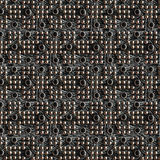 Leather with metallic dots Stock Photos