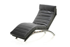 A leather modern chair Royalty Free Stock Images