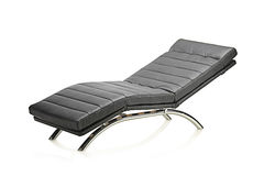 A leather modern chair Stock Photography