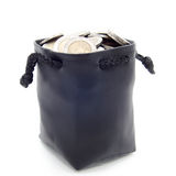 Leather moneybag Royalty Free Stock Photo