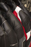 Leather Motorcycle jackets Royalty Free Stock Photography
