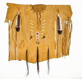 Leather Native American Shirt Royalty Free Stock Images