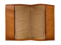 Leather Notebook Movable Cover Royalty Free Stock Image