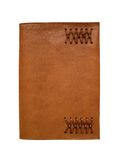 Leather Notebook Movable Cover Royalty Free Stock Photography
