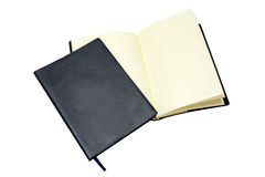Leather notebook Royalty Free Stock Photography