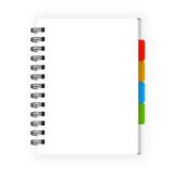 Leather notebook Royalty Free Stock Photo