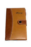 Leather Notebook stock images