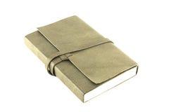 Leather notebooks isolated on white background Stock Photos
