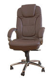 Leather office chair Royalty Free Stock Image