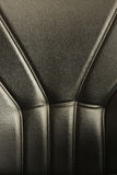 Leather office chair detail Stock Image