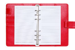 Leather office organizer Royalty Free Stock Photo
