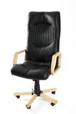 Leather office swivel chair Stock Image