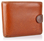 Leather old purse Royalty Free Stock Photos