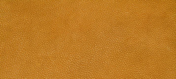 Leather orange texture Stock Images