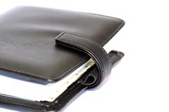 Leather organiser B Stock Photo