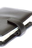 Leather organiser A Royalty Free Stock Photos