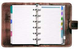 Leather Organizer Royalty Free Stock Photography