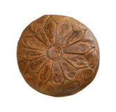 Leather ottoman Stock Images