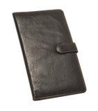 Leather passport holder Royalty Free Stock Photos