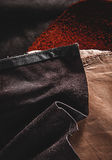 Leather patch backround Royalty Free Stock Photos