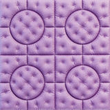 Leather pattern purple Stock Image