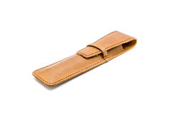 leather pen case stock images