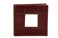 Leather Photo Album Royalty Free Stock Photo